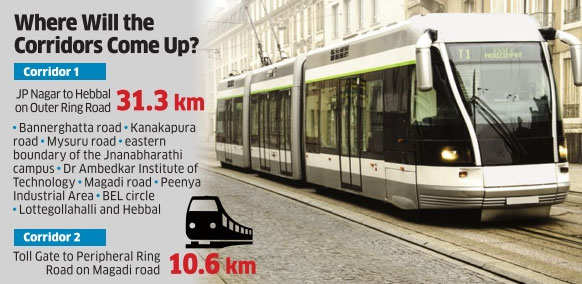 Karnataka government trying to revive Light Rail Transit network for Bengaluru