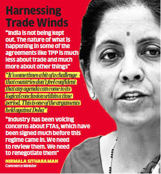 India reposes faith in WTO's multilateral trading system, sees no threat from regional pacts
