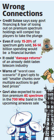 $70 billion spectrum sale in March to deal a financial blow to Airtel, Vodafone & Idea