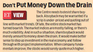 For fiscal nutrition, four PSUs CIL, Nalco, Bhel and NMDC told to buy back shares
