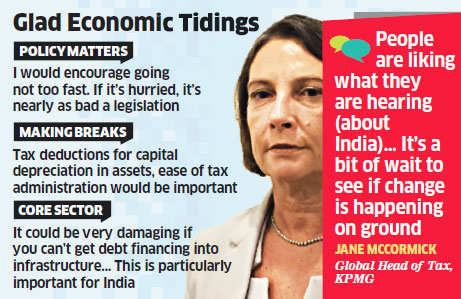 We have had lot more enquiries about India from smaller companies: Jane McCormick, KPMG