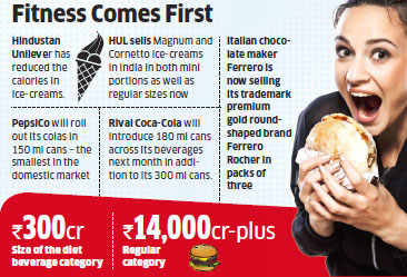 Food companies like Hindustan Unilever, PepsiCo cut calorie counts to serve health-conscious buyers
