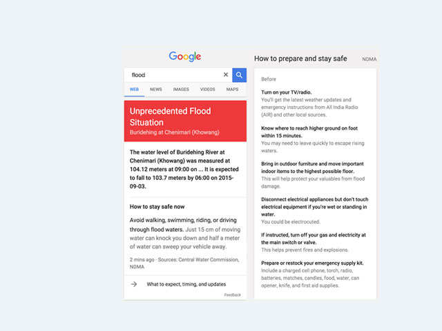 Google to offer 'Flood Alerts' as part of Google Public Alerts