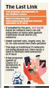 Trai recommends licence amendment to facilitate Internet calls