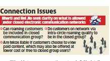 Airtel, Jio executives meet Trai over services under closed networks