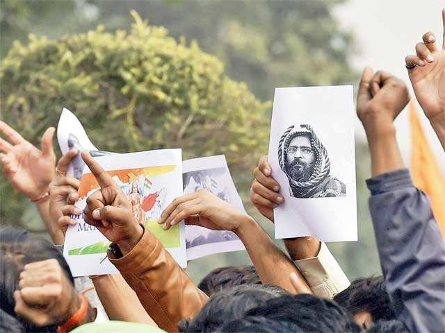 How sedition charge in JNU over Afzal Guru harms democracy