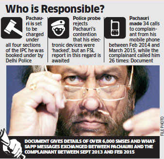 TERI sexual assault case: RK Pachauri guilty of outraging modesty, says chargesheet