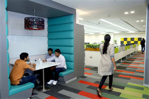 employees reveal their favourite spots in office
