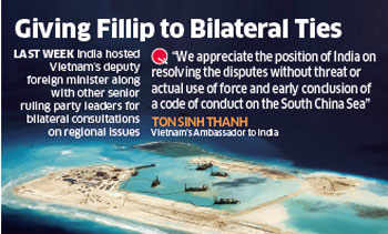 Vietnam invites India to explore resources in South China sea