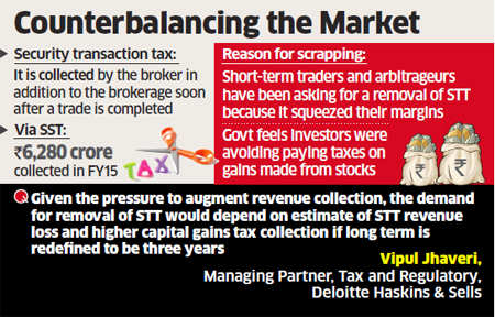 Budget 2016: Finance Ministry seeks experts' views on impact of security transaction tax removal