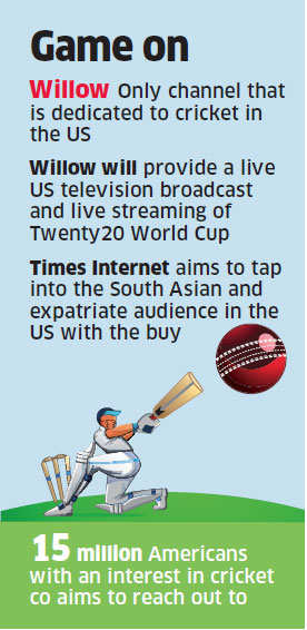 Times Internet takes guard in the US, buys Willow TV