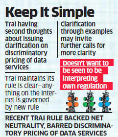 Trai feels net neutrality ruling quite clear, having second thoughts about issuing clarification
