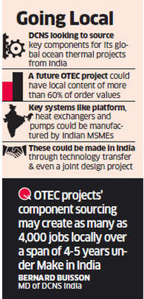 French firm DCNS sees 4,000 jobs under 'Make in India' initiative