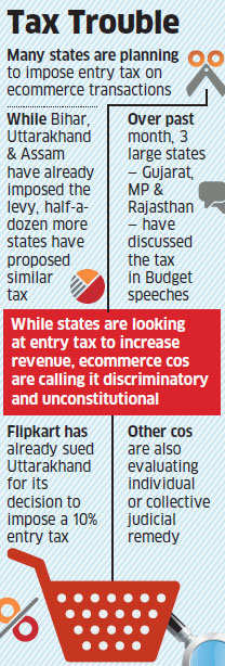 After Uttarakhand, Bihar, Assam, many more states planning levy on ecommerce goods