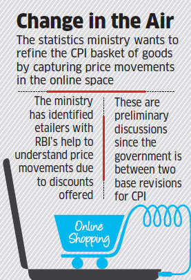 Statistics Ministry planning to include ecommerce in calculation of CPI
