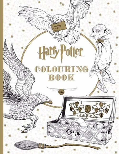 Colour By Number Harry Potter : Harry potter colouring books for adults to beat some stress