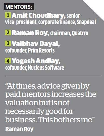 How some of India's hottest startups are finding big-hearted mentors - from Arundhati Bhattacharya to Raman Roy