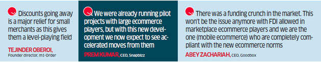 Mobile ecommerce players like SnapBizz, Goodbox say new guidelines create level playing field