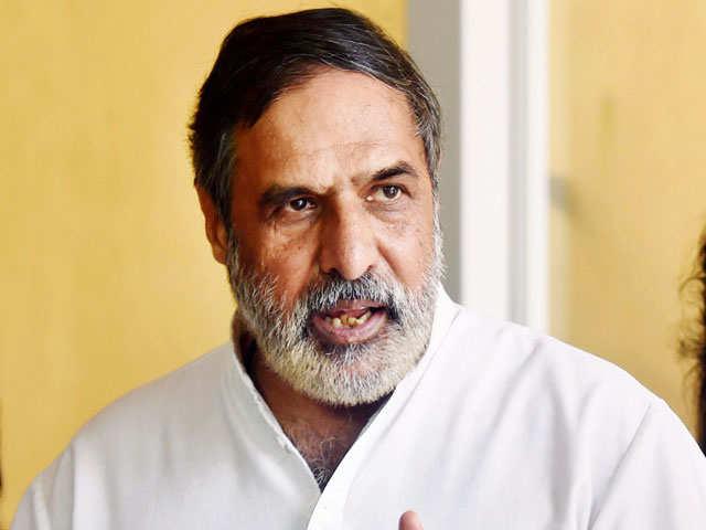 Anand Sharma and eight other members take oath in Rajya Sabha