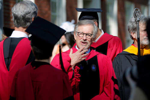 the life and movie career of steven spielberg Steven spielberg has created some of cinema's  through the movie-maker's life and work, spielberg,  point in steven spielberg's career towards.