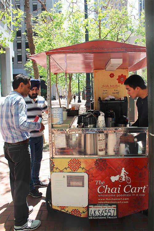 Chai stirred into Silicon Valley's coffee culture
