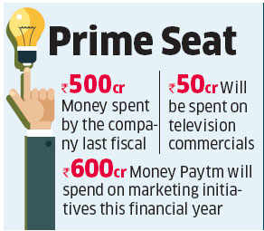 Paytm banks on Rs 600 crore ad campaign to get word around