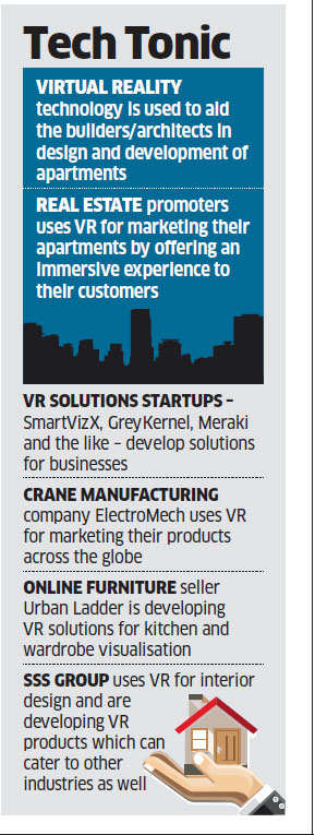 Startups coming up with virtual reality solutions as companies embrace new technology