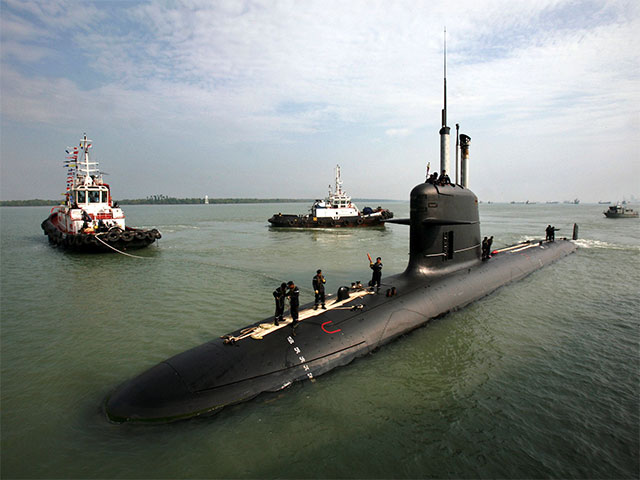 Scorpene documents stolen, not leaked: French source