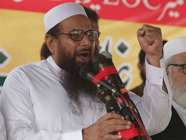 Will tell India what is real surgical strike: Hafiz Saeed