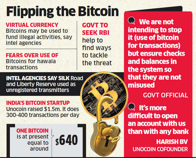 Intelligence agencies warn government of Bitcoin misuse
