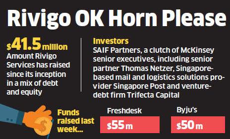 Rivigo raises $75 million in Series C funding from Warburg Pincus