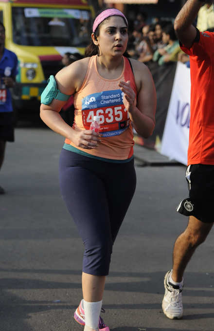 'I didn't let an accident & surgery stop me from running'