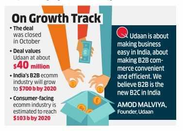 Former Flipkart execs' startup Udaan raises $10 million from Lightspeed