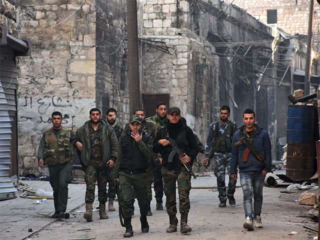 Syria army pounds Aleppo rebels as Russia vows no let-up