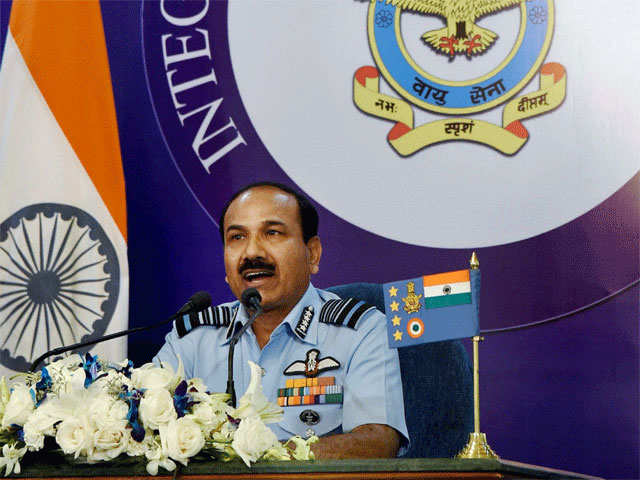 IAF Chief for upgrading combat potential of Eastern Command