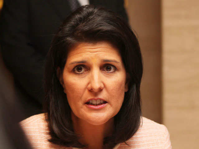 'Nikki Haley's confirmation hearing for US envoy to UN next week'