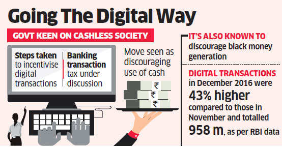 To push digital transactions, Modi government lines up measures to discourage large cash use