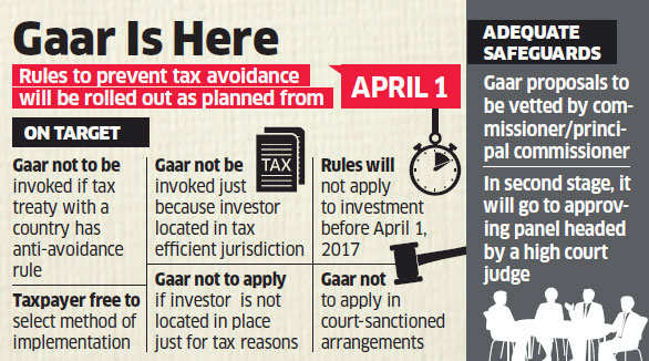 CBDT issues fresh notice on GAAR implementation