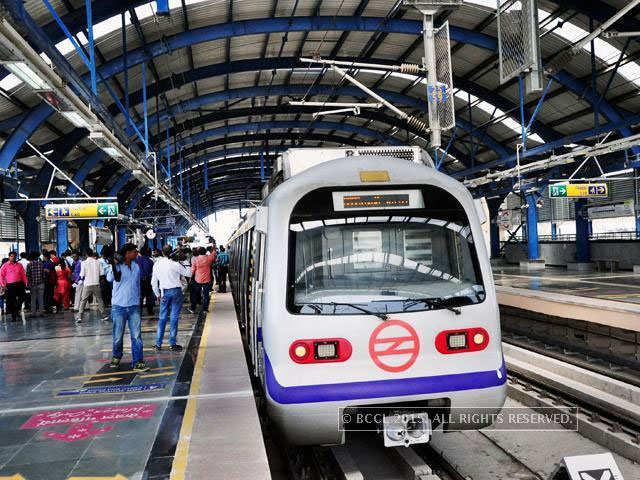Delhi Metro creates park from waste material