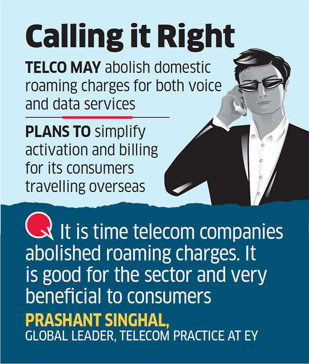 Airtel Discards Roaming Charges on Incoming Calls and Data