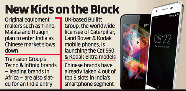 Obscure Chinese phone companies ring in big plans for India
