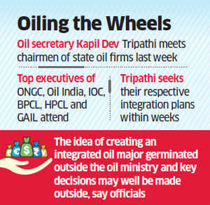 Oil Ministry seeks integration road map from state oil companies