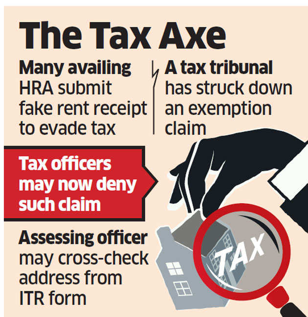 Fake rent receipt won't help you lower tax burden anymore