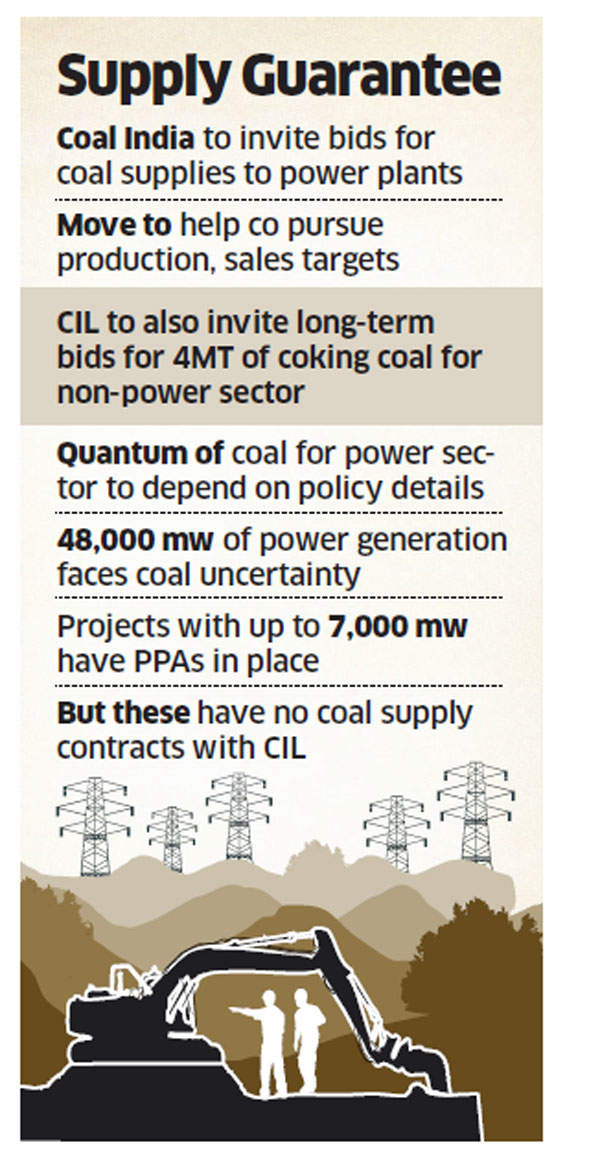Coal India seeks longer contracts for power sector