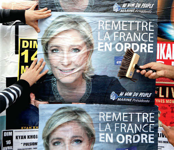 France's far-right reaches across spectrum as runoff looms