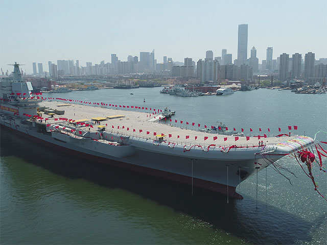 8,000 innovations added on China's first home-made aircraft carrier
