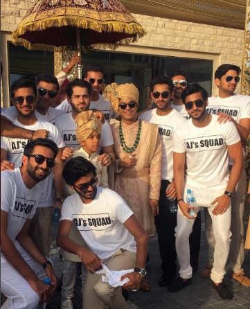 A destination wedding for Amit Jatia's son in Bahrain