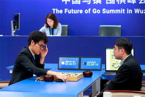 Google's AI powered AlphaGo defeats five leading Go players