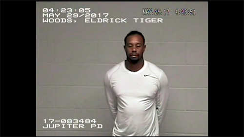 Video of Tiger Woods in Jail on Memorial Day Released