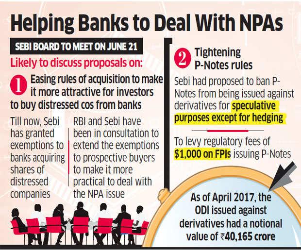Sebi may make acquisition of distressed assets stress-free